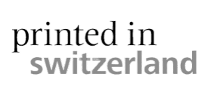 "Logo ""printed in switzerland"""
